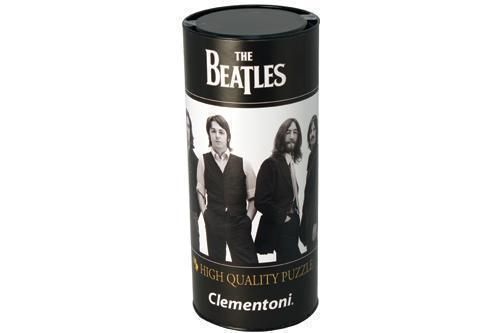 The Beatles Remastered LP Album Cover 500 Piece Jigsaw Puzzle In Tube
