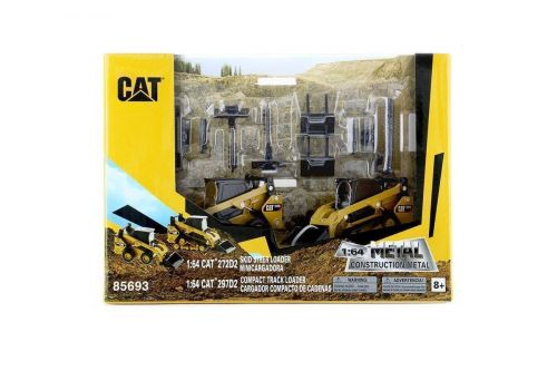 Caterpillar CAT 272D2 Skid Steer & Track Loader 1:64 Scale Kids Toy Collectible Diecast Model Replica