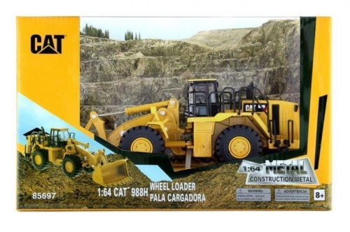 Caterpillar CAT 988H Wheel Loader 1:64 Scale Kids Toy Collectible Diecast Model Replica