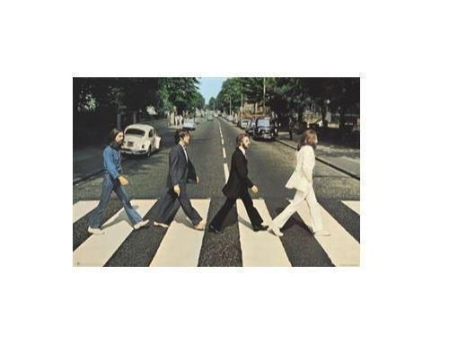 The Beatles Abbey Road Rolled Poster Print Decorative Wall Hanging 610mm x 915mm Slot #21