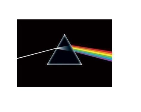 Pink Floyd Dark Side Rolled Poster Print Decorative Wall Hanging 610mm x 915mm Slot #61