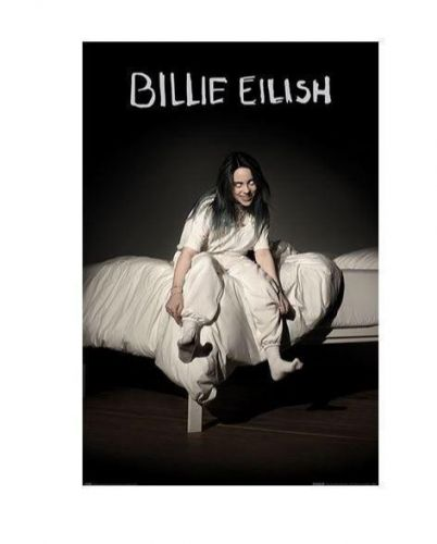 Billie Eilish When We All Fall Asleep Rolled Poster Print Decorative Wall Hanging 610mm x 915mm Slot #58