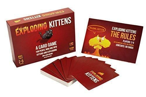 Exploding Kittens - A Card Game For People Who Are Into Kittens And Explosives