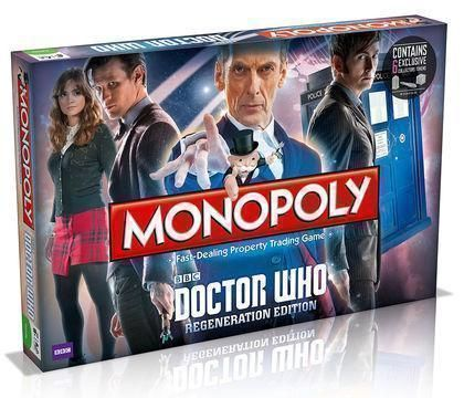 Dr Who Regeneration Edition Monopoly The Fast Dealing Property Trading Board Game