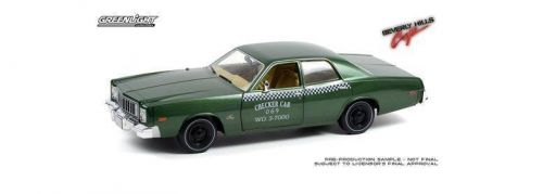 PRE ORDER - 1976 Beverly Hills Cop Plymouth Fury Checker Cab 069 1:18 Scale Model Car (FULL PRICE $179.99)**