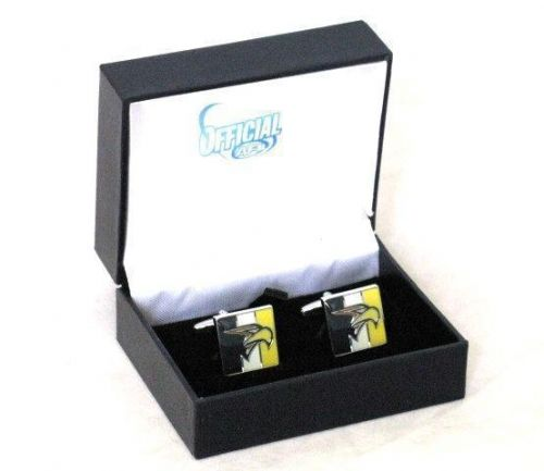 West Coast Eagles AFL Coloured Colored Gift Boxed Cufflinks Cuff Links