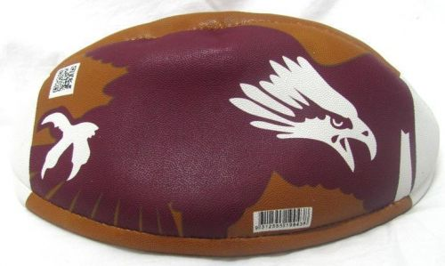 Manly Sea Eagles NRL Team Logo Brown Heritage Collectors Football Ball Heritage Edition
