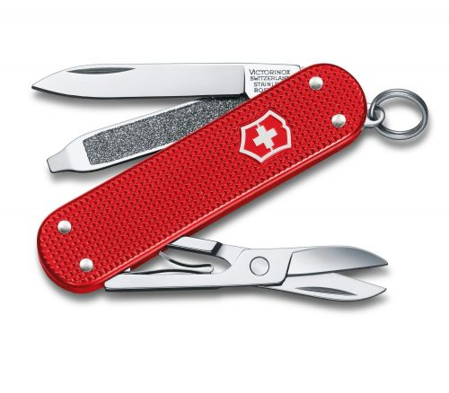 Victorinox Classic Alox 2018 Limited Edition Red Multi Tool Swiss Army Pocket Knife