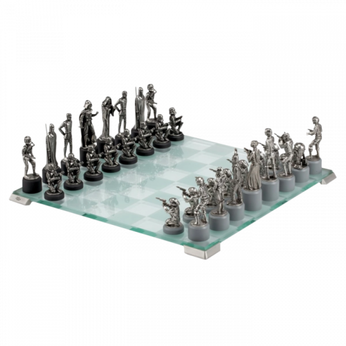 Royal Selangor Star Wars Collection Pewter Classic Chess Set