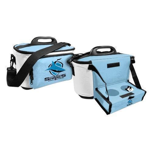 Cronulla Sharks NRL Large Esky Insulated Lunch Cooler Bag With Drinks Tray