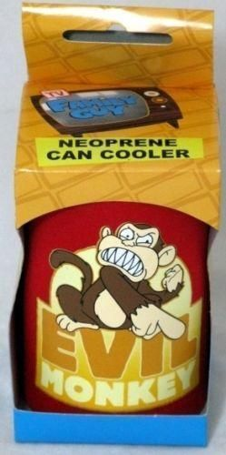 Family Guy Evil Monkey Beer Can Cooler TV Show Collectable