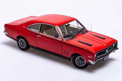 PRE ORDER -  Holden HG Monaro GTS 350 Rally Red With Sandalwood Interior 1:18 Die Cast Scale Model Car (FULL PRICE - $250.00)
