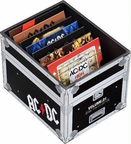 2020/2021 ACDC AC/DC 20c Seven Coin Collection Coloured Uncirculated Coins Royal Australian Mint RAM