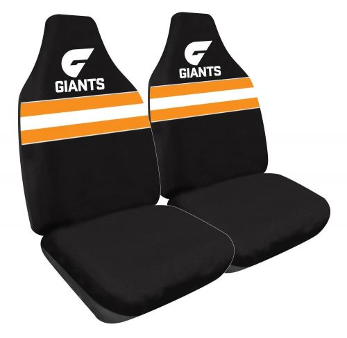 Greater Western Sydney GWS Giants AFL 2 Front Car Seat Covers