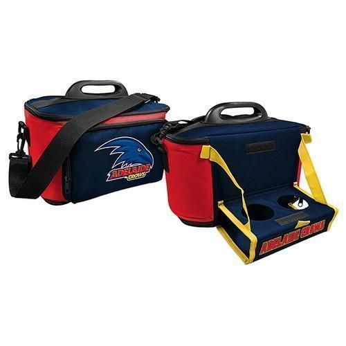 Adelaide Crows AFL Large Insulated Lunch Cooler Bag With Tray