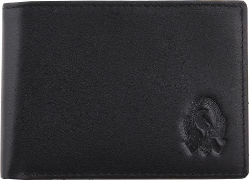 Collingwood Magpies AFL Team Logo Black Leather Mens Wallet Boxed Great gift Idea