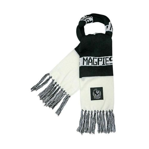 Collingwood Magpies AFL Football Cloth Patch Scarf