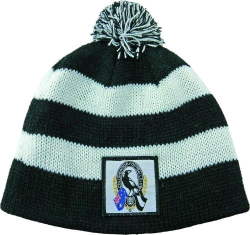 Collingwood Magpies AFL Football Kids Baby Beanie