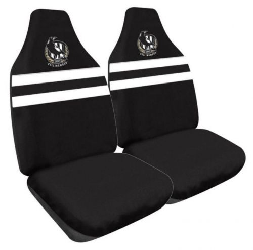 Collingwood Magpies AFL 2 Front Car Seat Covers