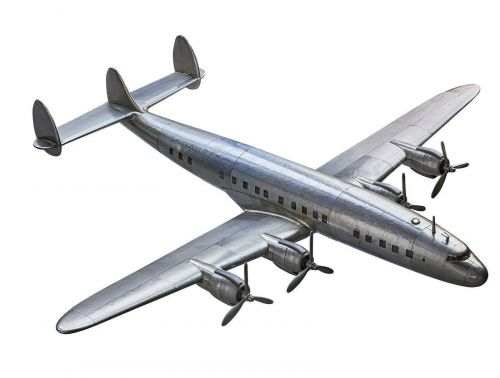 Constellation Aircraft Model Plane On Stand