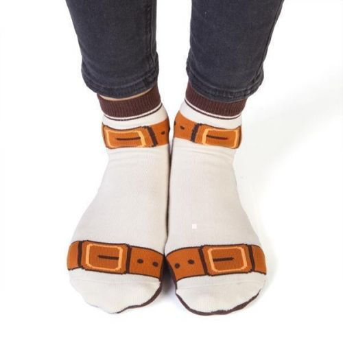 Feet Speaks Old Fart Coloured Long Socks With Great Soles One Size Fits Most