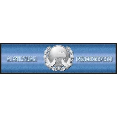 Australian Peacekeepers Peacekeeping Missions Bar Runner ANZAC Australian Great War Military Collectable