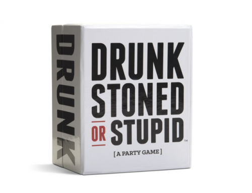 Drunk Stoned or Stupid Party Card Game Cards With Personality Traits