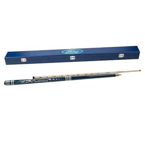 Ford Car Team Logo Snooker Pool Cue In Hard Carry Case Collectors Gift Idea
