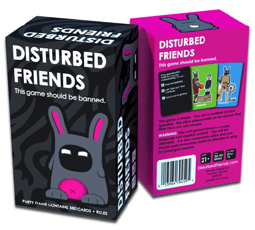 Disturbed Friends - Party Card Game With Explicit Content