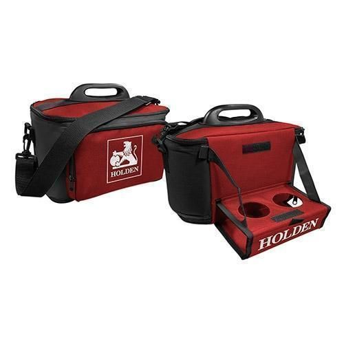Holden Logo Large Esky Insulated Lunch Cooler Bag With Drinks Tray