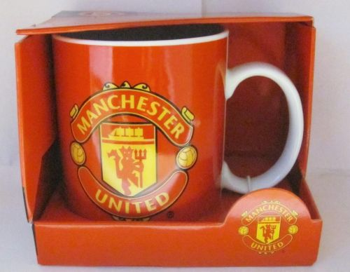 Manchester Man United English Premier League EPL Ceramic Coffee Mug Collectable Cup