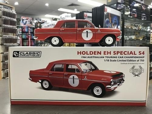 1964 Holden EH S4 Special ATCC Australian Touring Car Championship Driven By Brian Muir Die Cast Model Car 1:18