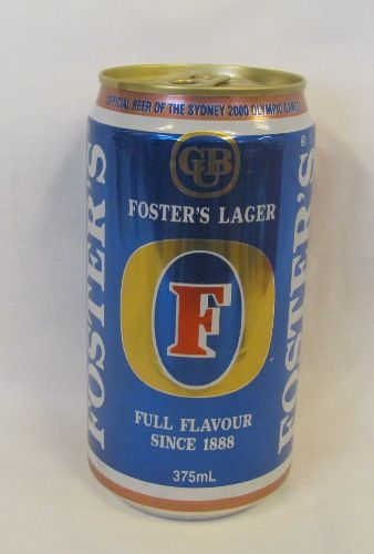 2000 Olympic Games Official Beer Bronze Limited Edition Fosters