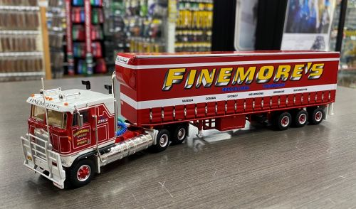 Highway Replicas Finemore's Freight Semi Single Trailer Die Cast Model Truck 1:64 Scale