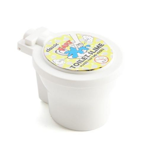 Classic Fart Toilet Slime Makes A Farting Noise When Poked Funny Novelty Gift Idea Joke Laugh