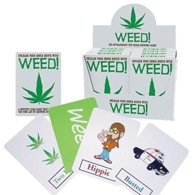 Weed Playing Cards 2-4 Players Unleash Your Inner Hippie Strategy Card Game
