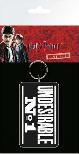Harry Potter Undesirable No.1 Keyring Key Ring Chain