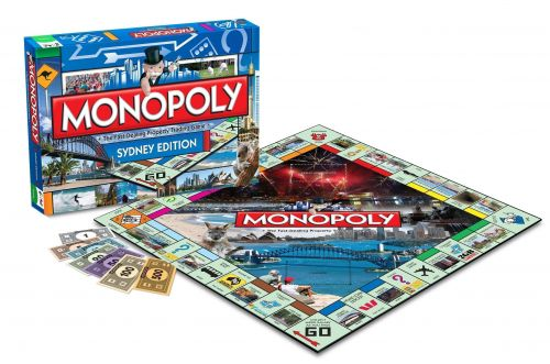Sydney Collectors Edition Monopoly The Fast Dealing Property Trading Game