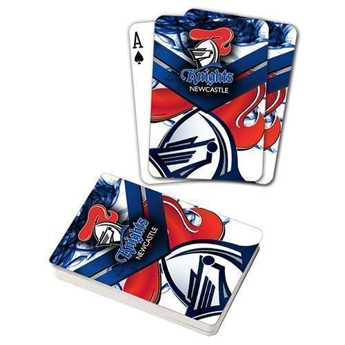 Newcastle Knights NRL Team Logo Full Deck Set of Playing Cards Poker