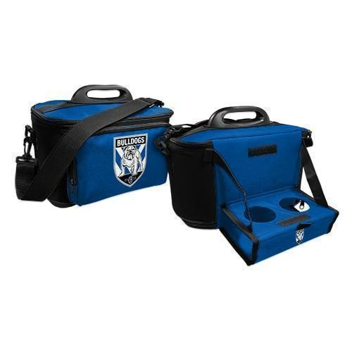 Canterbury Bulldogs NRL Large Esky Insulated Lunch Cooler Bag With Drinks Tray
