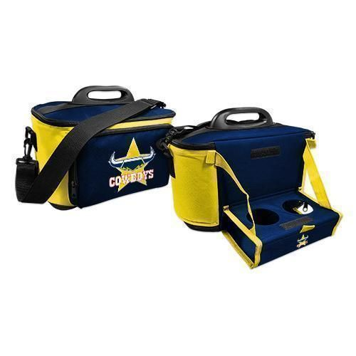 North Queensland Cowboys NRL Large Esky Insulated Lunch Cooler Bag With Drinks Tray