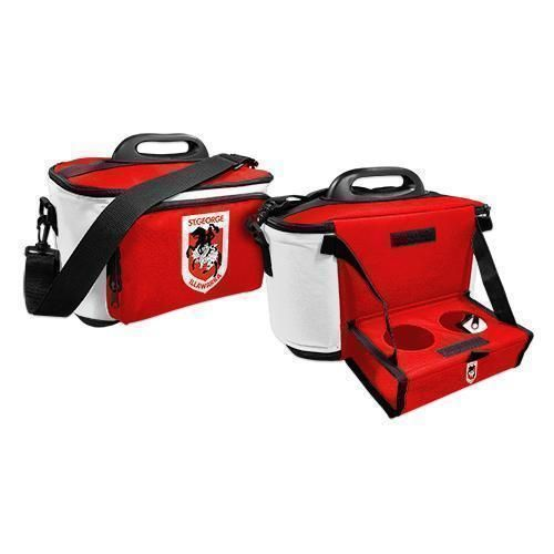 St George Dragons NRL Large Esky Insulated Lunch Cooler Bag With Drinks Tray