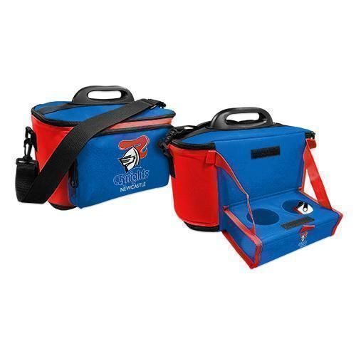 Newcastle Knights NRL Large Esky Insulated Lunch Cooler Bag With Drinks Tray