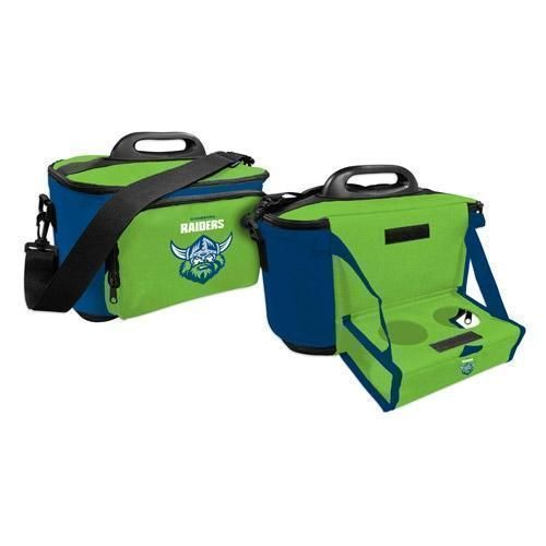 Canberra Raiders NRL Large Esky Insulated Lunch Cooler Bag With Drinks Tray