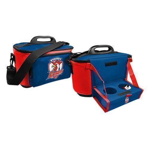 Sydney Roosters NRL Large Esky Insulated Lunch Cooler Bag With Drinks Tray