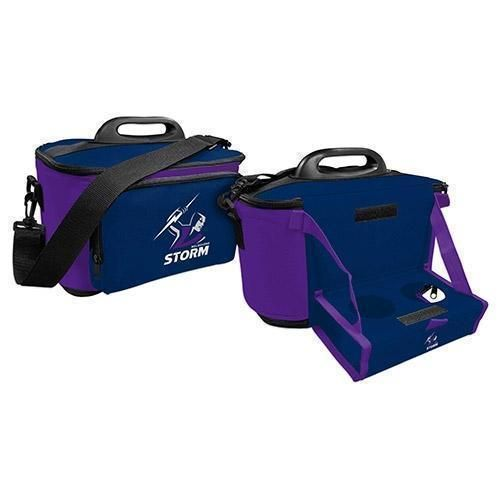 Melbourne Storm NRL Large Esky Insulated Lunch Cooler Bag With Drinks Tray