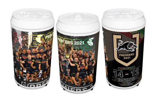 PRE ORDER - Penrith Panthers 2021 NRL Premiers 40L Can Shaped Fridge (FULL PRICE $449.99)