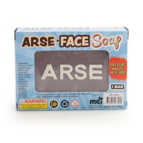 Arse Ass Face Soap - The Scented Soap That Tells You Where To Stick It Adults Only Novelty Gift Idea