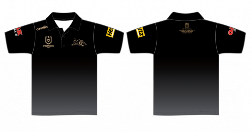 PRE ORDER - Penrith Panthers 2021 NRL Premiers O'Neills Kids Youth Polo Shirt