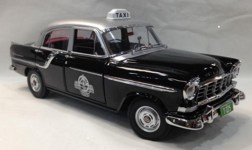 FC Special Holden 1958 Taxi Silver Top Cabs Die Cast Model Car 1:18